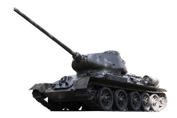 Russian Tank T34 - Stock Image