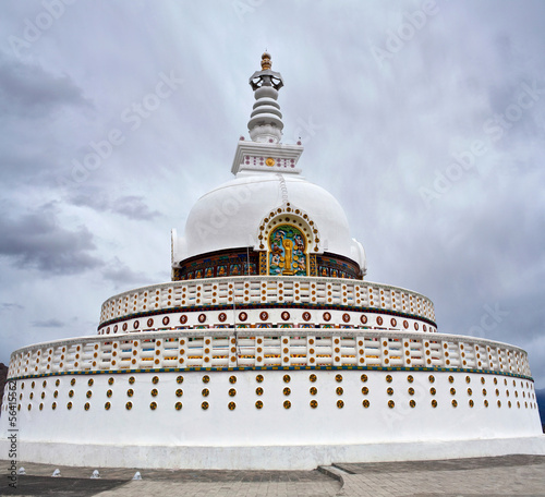 Peace Pagoda in Leh, Ladakh