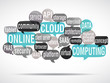word cloud : cloud computing