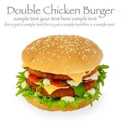 Doppeldecker Chicken Burger