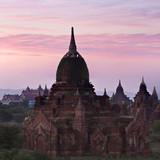Ancient pagoda in Pagan, Myanmar poster