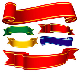 Vector banners.