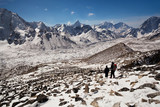View fron Kala Patthar in Sagarmatha national park, Nepal