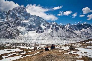 View from Kala Pattar in Sagarmatha National Park, Nepal