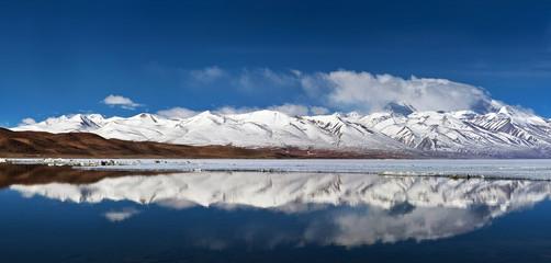 Manasarovar lake in Tibet