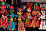 Street Nepalese puppet show