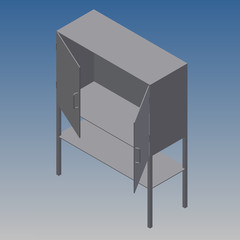 Mesa armario