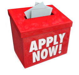 Apply Now Words Submission Box Application Job Loan