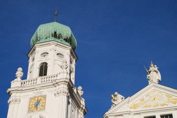 Passau Dom St. Stephan Bistum Diözese Nordturm Kirchturm