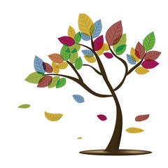 fall's tree