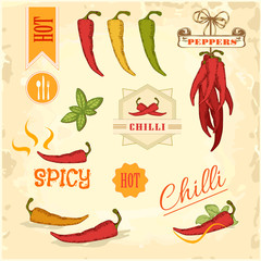 chilli, chili, pepper vegetables, packaging design