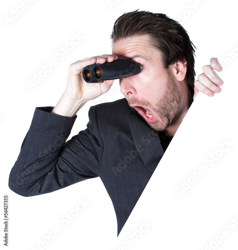 Attractive caucasian man shot in studio
