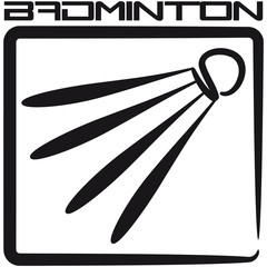 Cool Badminton Logo