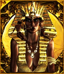 Makeup the Pharaoh Queen