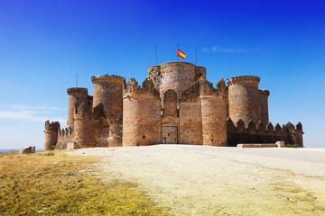 Main gate in Gothic Mudejar castle