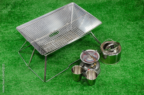Stanless steel cooking set