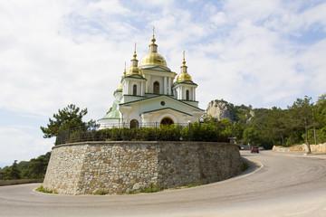 Church of St. Michael in Oleandra, Crimea
