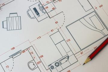 House restoration drawing