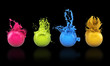3D - Paintballs (II)