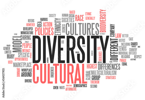 "Word Cloud ""Diversity"""