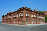 Tomsk, old brick building