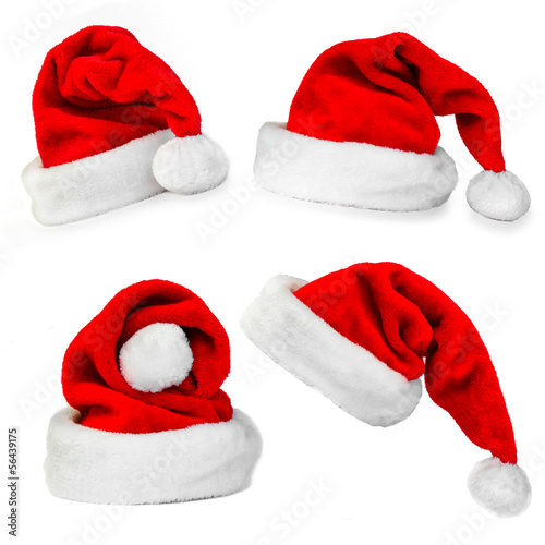 Papiers peints Fete, Spectacle collage christmas cap