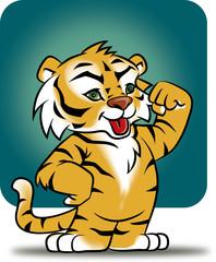 Cachorro tigre