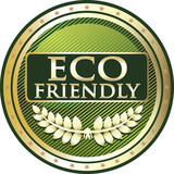 Eco Friendly Green Label