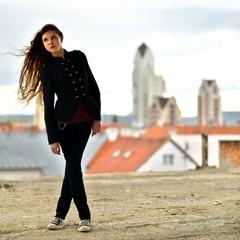 Belle femme. Fashion art photo