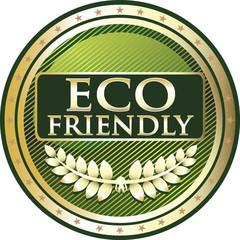 Eco Friendly Green Label