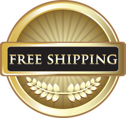 Free Shipping Gold Label
