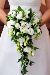bridal, bride, bouqet, flowers, wedding