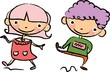 Постер, плакат: Симпатичные детские мультики