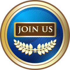 Join Us Membership Label