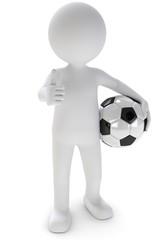 fussball daumen hoch