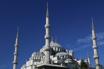 Istanbul - Blue mosque, Turkey