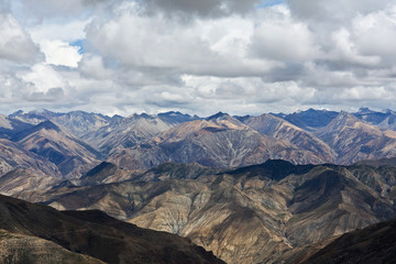 Mountain landscape in Upper Dolpo restricted area, Nepal