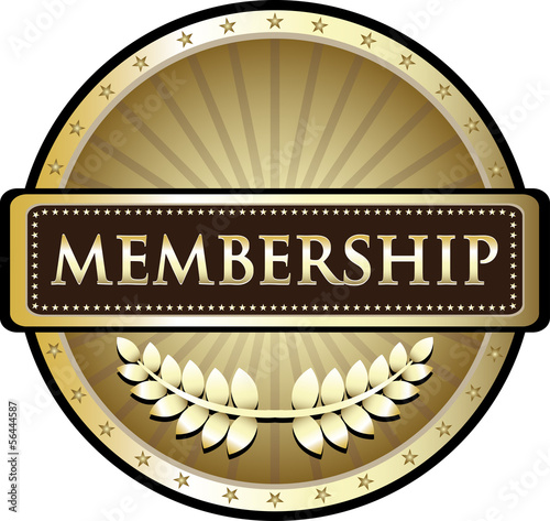 Membership Vintage Gold Label
