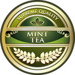 Mint Tea Vintage Label