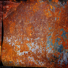 Old rusty sheet metal,  texture