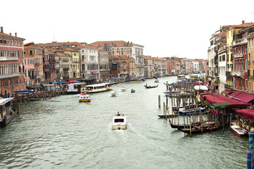 Grand Canale in Venice,Italy
