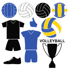 Volleyball. Set
