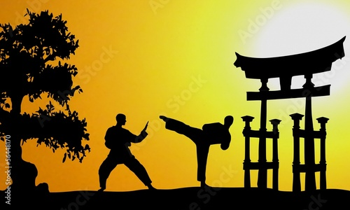 Kampfsport Asien