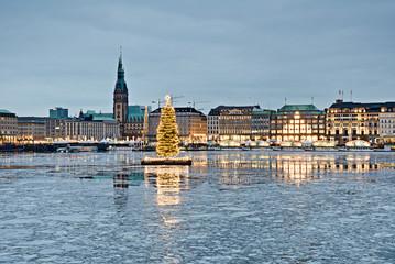 Hamburg Alster weihnachten