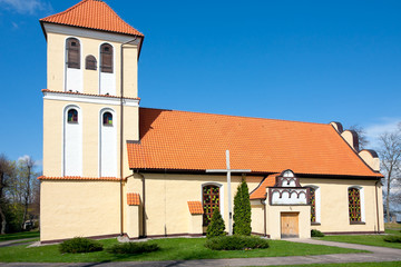 Church of Saint Andrew Bobola in Rydzewo