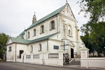 Saint Andrew church in Leczyca / Poland