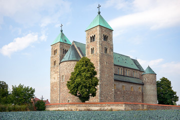 Collegiate church in Tum
