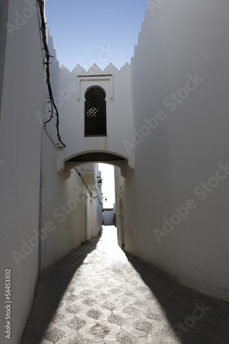enge Gasse in Assila