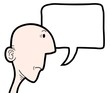 Talking comic