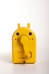Yellow Manual Desktop Pencil Sharpener